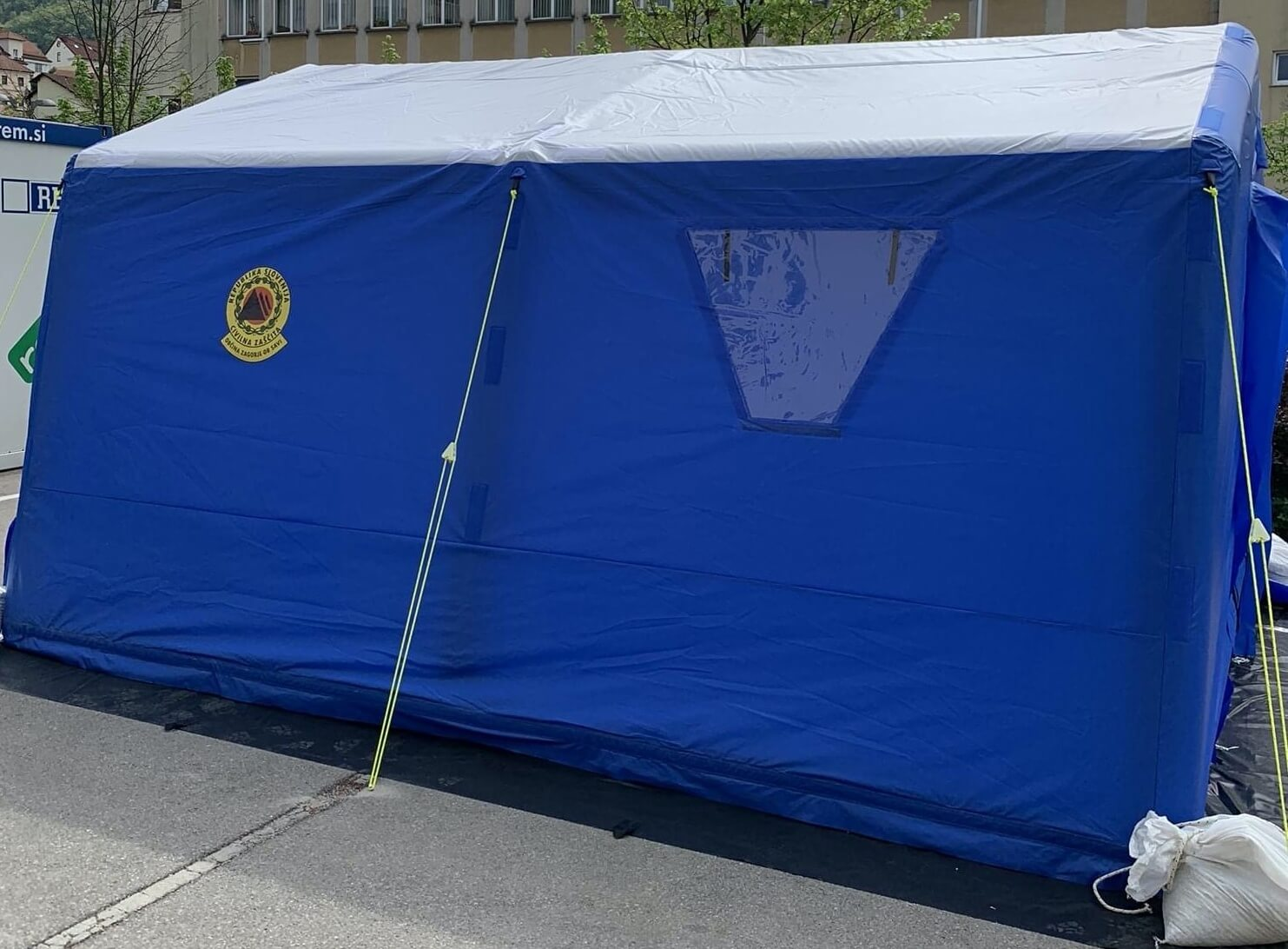 Rapid Response Inflatable Shelters